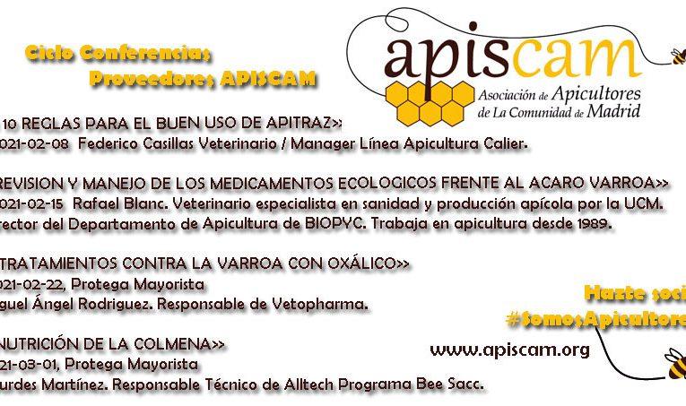 Ciclo de conferencias de proveedores de Apiscam