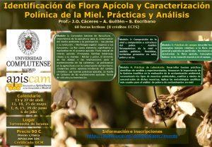 Curso de Identificación de Flora Apícola y Caracterización Polínica de la Miel. Prácticas y Análisis