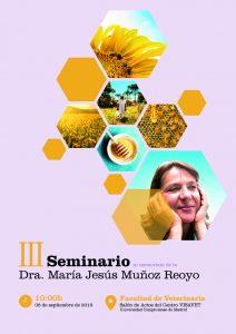 III Seminario in memoriam de la Dra. María Jesús Muñoz Reoyo @ Salón de actos del centro VISAVET